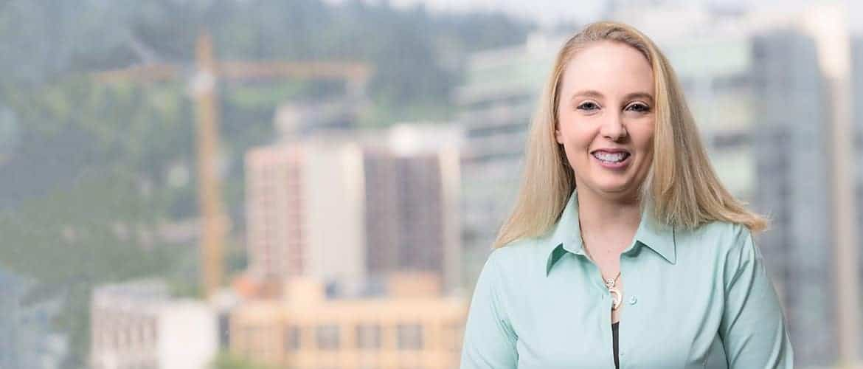 Kelly Lusk, intellectual property attorney in Portland, Oregon.